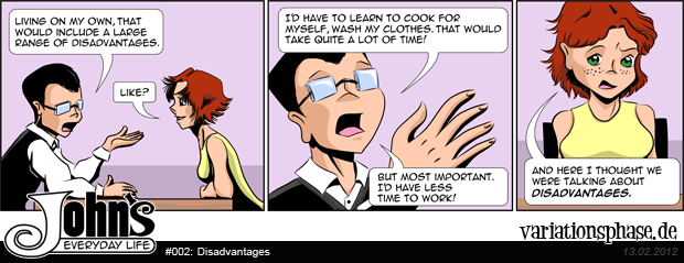 Comic Strip: Disadvantages