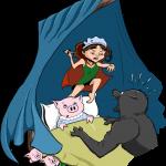 3 kleinen Schweinchen und Rotkäppchen - Remake