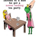 Never ending tea party