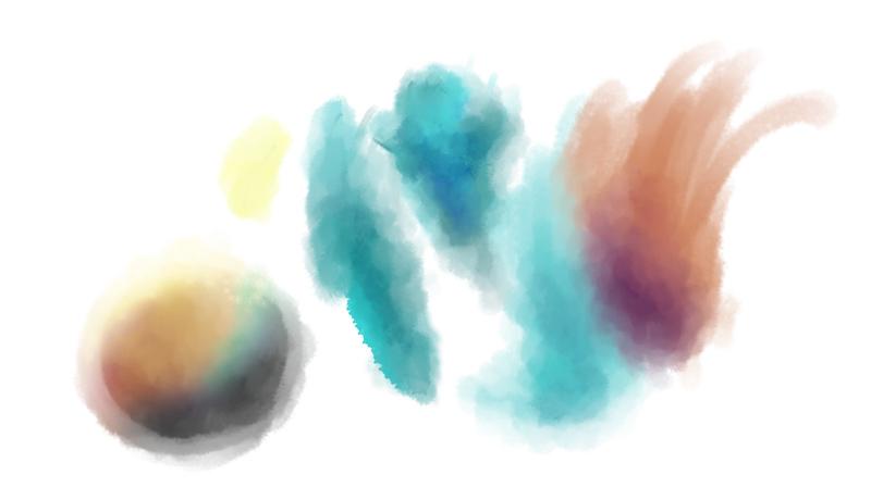 Effekte mit dem Blend-Pinsel