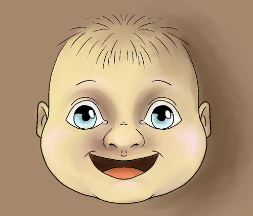 Babykopf in Manga Studio 5