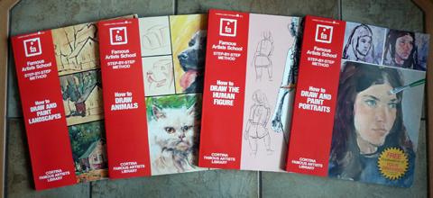 Bücher der Famous Artist School