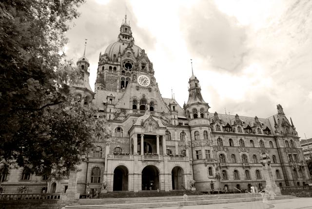Rathaus Hannover Sepia