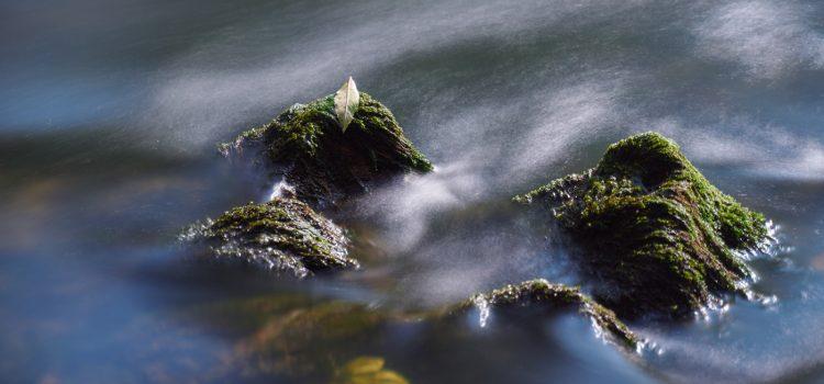 Wasseraufnahmen mit ND-Filter