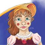 Clown Girl Scribble