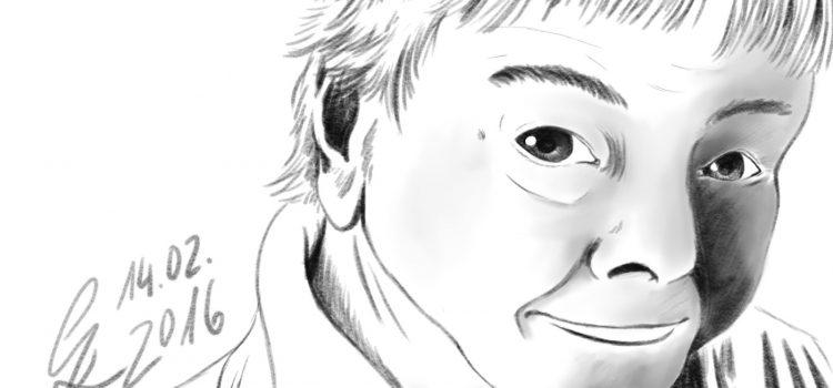 Ein Bleistift für Manga Studio