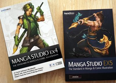 Manga Studio Packshots