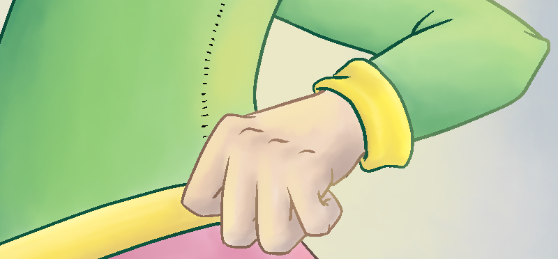 Bildausschnitt mit farbiger Kontur