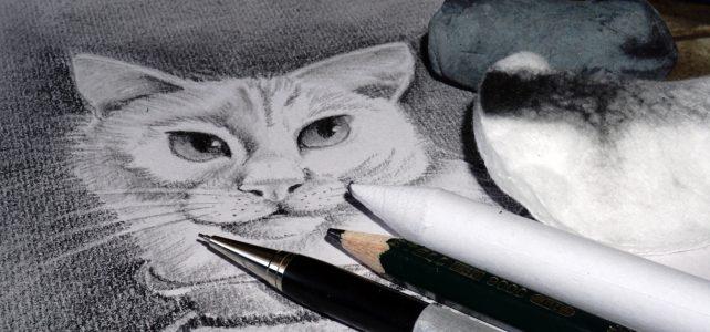 Mit Bleistift zeichnen