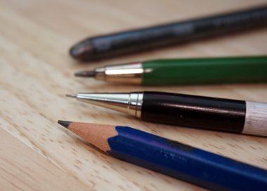 Verschiedene Bleistiftarten