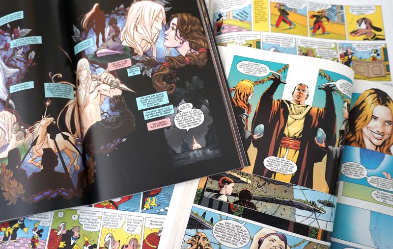 Vergleich Comic und grafische Novelle