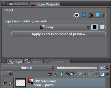 Layer Property - Expression Color