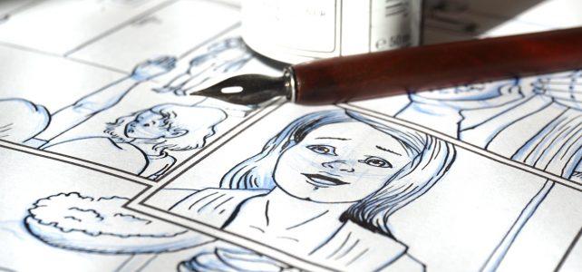 Comic tuschen: Analog oder digital?