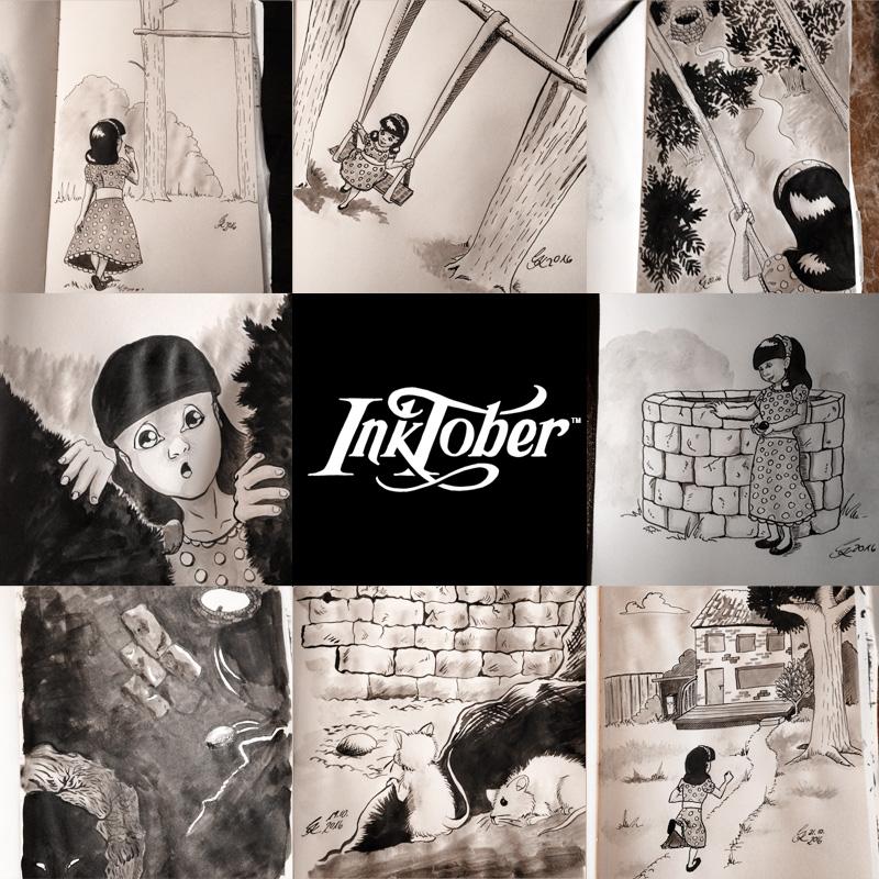 INKtober 2016 - Bisherige Bilder