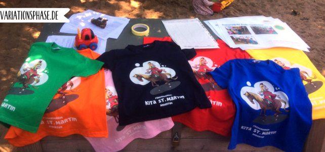 Sankt Martin (2) – T-Shirts für einen guten Zweck