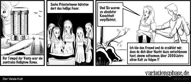 Comic Strip: Der Vesta-Kult