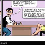 John's everyday life - Sit straight