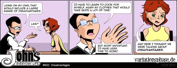 Comic Strip: Disadvantages
