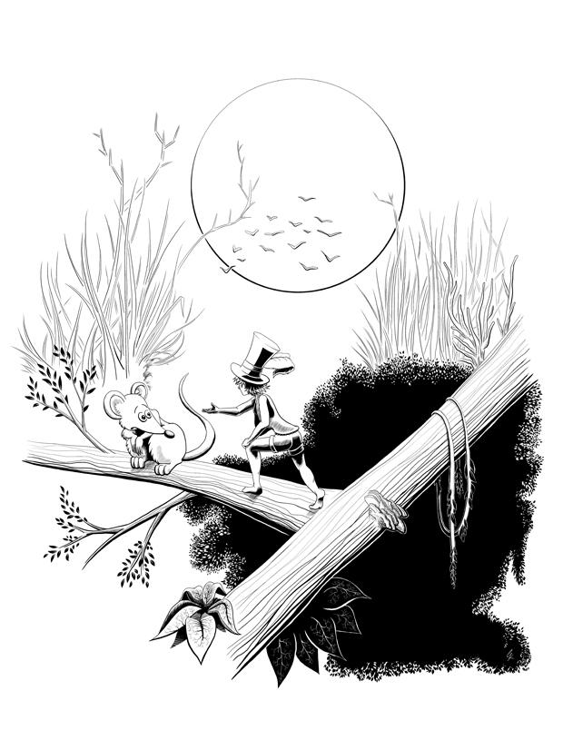 Die Hutmacherin und die Maus