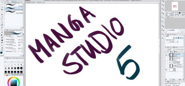 Manga Studio 5 ex im Test