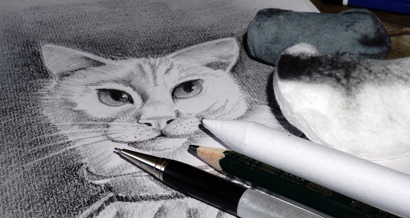 Zeichnen mit Bleistift