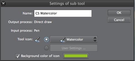 Clip Studio Paint: Basis-Einstellungen für eigenen Brush / eigenes Sub Tool