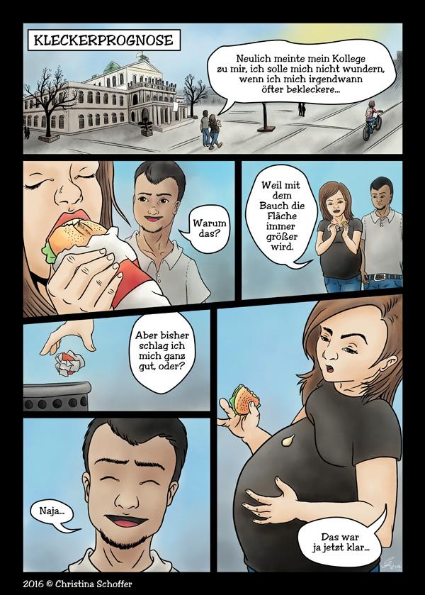 Comic Strip: Kleckerprognose