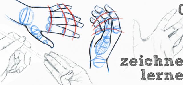 Zeichnen lernen – Hände zeichnen