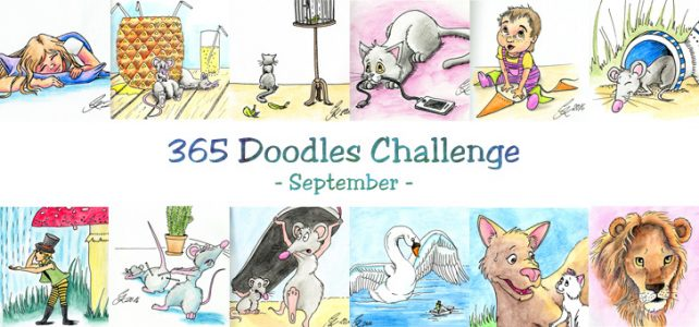 Doodles im September
