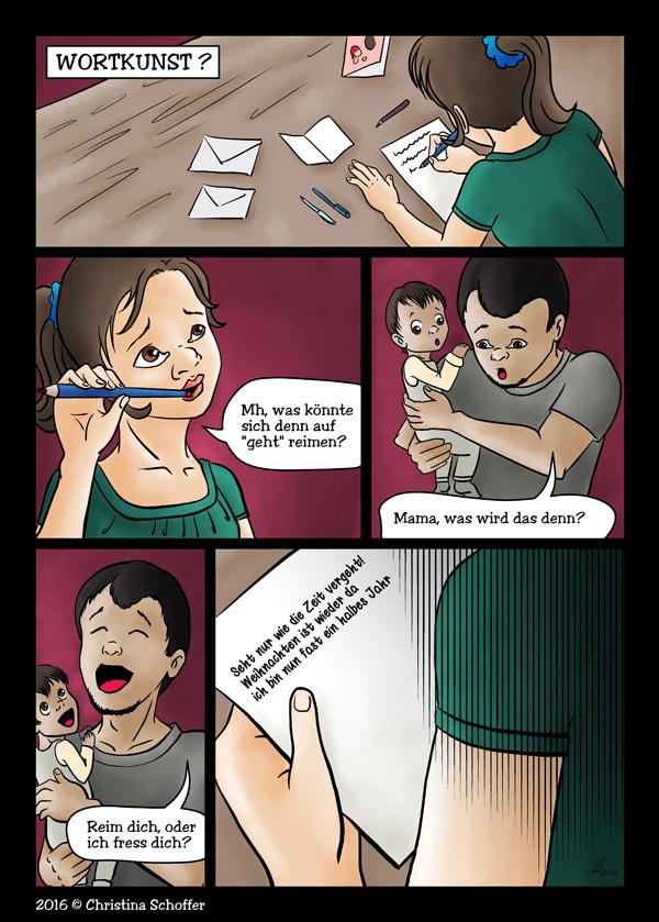 Comic: Wortkunst?