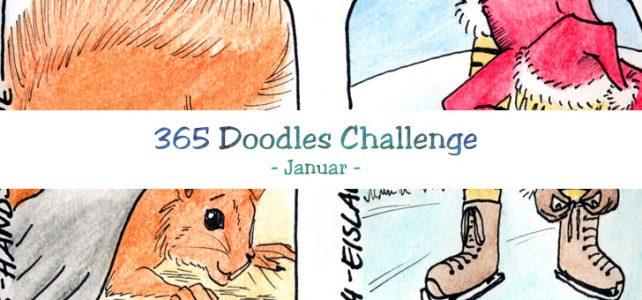 Doodles im Januar