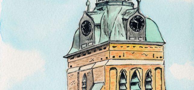 Aquarell – St. Marien Kirche