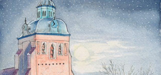 St. Marien von Wittstock im Winter