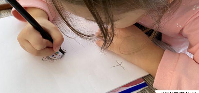 Wie unsere Kinder zeichnen lernen
